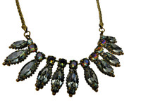 ***ONE OF A KIND***CRYSTAL PATINA Crystal Necklace by Sorrelli~NDG1AGCRP
