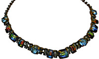 ***ONE OF A KIND***CRYSTAL PATINA Crystal Necklace by Sorrelli~NDH14AGCRP