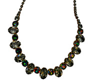 ***ONE OF A KIND***CRYSTAL PATINA Crystal Necklace by Sorrelli~NDH23AGCRP