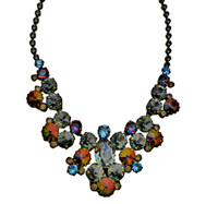 ***ONE OF A KIND***CRYSTAL PATINA Crystal Necklace by Sorrelli~NDH24AGCRP