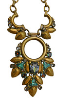 ***ONE OF A KIND***CRYSTAL PATINA Crystal Pendant  by Sorrelli~NDH43AGCRP