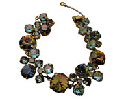 ***ONE OF A KIND***CRYSTAL PATINA Crystal Bracelet  by Sorrelli~BCW10AGCRP