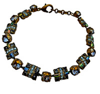 ***ONE OF A KIND***CRYSTAL PATINA Crystal Bracelet  by Sorrelli~BDE21AGCRP