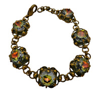 ***ONE OF A KIND***CRYSTAL PATINA Crystal Bracelet  by Sorrelli~BDH16AGCRP