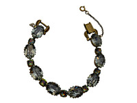 ***ONE OF A KIND***CRYSTAL PATINA Crystal Bracelet  by Sorrelli~BDH23AGCRP