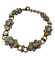 ***ONE OF A KIND***PEARL LUSTER  Crystal Bracelet by Sorrelli~BDH9AGPLU