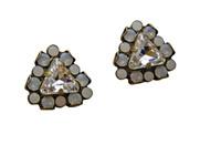 ***ONE OF A KIND***PEARL LUSTER  Crystal Earrings by Sorrelli~EP2016H44AGPLU