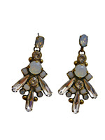 ***ONE OF A KIND***PEARL LUSTER  Crystal Earrings by Sorrelli~EDH42AGPLU