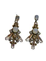 ***ONE OF A KIND***PEARL LUSTER  Crystal Earrings by Sorrelli~EDH42AGPLU