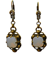 ***ONE OF A KIND***PEARL LUSTER  Crystal Earrings by Sorrelli~EDH16AGPLU