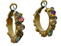 ***ONE OF A KIND***CRYSTAL PATINA Crystal Earrings by Sorrelli~EDH34AGCRP