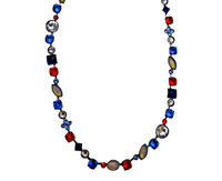 Stars & Stripes  Crystal Necklace by Sorrelli~NAQ3ASUSA