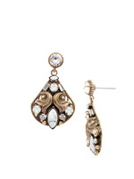 PEARL LUSTER Crystal Earrings by Sorrelli~EDH4AGPLU