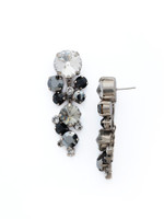 **SPECIAL ORDER** MIDNIGHT MOON crystal earrings by Sorrelli~ECW10ASMMO