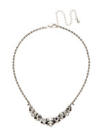 **SPECIAL ORDER**MIDNIGHT MOON crystal necklace by Sorrelli~NCW11ASMMO