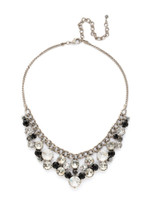 **SPECIAL ORDER**MIDNIGHT MOON crystal necklace by Sorrelli~NCW10ASMMO