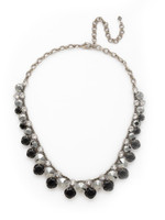 **SPECIAL ORDER**MIDNIGHT MOON crystal necklace by Sorrelli~NCT14ASMMO