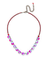 **SPECIAL ORDER**CRANBERRY Crystal Necklace by Sorrelli~NCU19ASCB