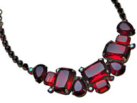 CRANBERRY Crystal Necklace by Sorrelli~NCT13ASCB