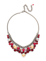 **SPECIAL ORDER**CRANBERRY Crystal Necklace by Sorrelli~NCW10ASCB