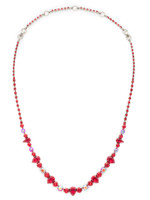 **SPECIAL ORDER**CRANBERRY Crystal Necklace by Sorrelli~NCR19ASCB