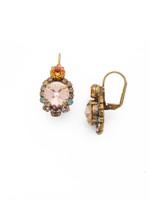 **SPECIAL ORDER**SORRELLI~APRICOT AGATE Crystal Earrings~ECQ27AGAP