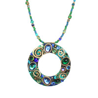 Michal Golan Emerald Collection Necklace~N3729