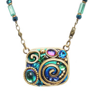 Michal Golan Emerald Collection Necklace~N3730