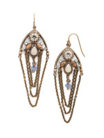 **SPECIAL ORDER**SORRELLI~COASTAL MIST Crystal Earrings~EDN101AGCMI