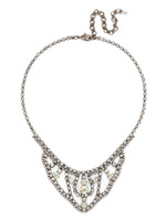 **SPECIAL ORDER**Sorrelli  White Bridal Crystal Necklace~NDP6ASWBR