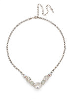 **SPECIAL ORDER**Sorrelli  White Bridal Crystal Necklace~NDP17ASWBR