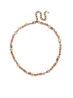 **SPECIAL ORDER**Sorrelli Rustic Bloom Crystal Necklace~NDK10AGRB