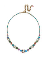 Sorrelli Happy Birthday Crystal Necklace~NDK17AGHB
