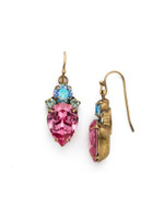 Sorrelli Happy Birthday Crystal Earrings~EDQ52AGHB