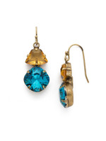 Sorrelli Happy Birthday Crystal Earrings~EDH65AGHB