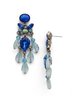 **SPECIAL ORDER** ULTRAMARINE Crystal Earrings by Sorrelli~EDL43ASUM