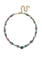 **SPECIAL ORDER** Jewel Tone Crystal Necklace by Sorrelli~NCD2AGJT