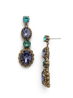 **SPECIAL ORDER** Jewel Tone Crystal Earrings by Sorrelli~EDQ5AGJT
