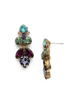 **SPECIAL ORDER** Jewel Tone Crystal Earrings by Sorrelli~EDE79AGJT