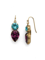 **SPECIAL ORDER** Jewel Tone Crystal Earrings by Sorrelli~EDH62AGJT