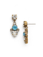***SPECIAL ORDER***DENIM BLUE Crystal Earring by Sorrelli~EDM47AGSMR