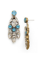 ***SPECIAL ORDER***DENIM BLUE Crystal Earring by Sorrelli~EDM50AGSMR