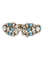 ***SPECIAL ORDER***DENIM BLUE Crystal Tribal Cuff by Sorrelli~BDM49AGSMR
