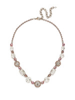 Sorrelli Crystal Rose Necklace~NDM41ASCRR
