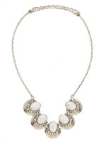 Sorrelli White Howlite Necklace~NDM73ASWH