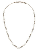 Sorrelli White Howlite Necklace~NDM60ASWH