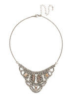 SORRELLI SNOW BUNNY CRYSTAL NECKLACE~NCE3ASSNB