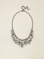 SORRELLI SNOW BUNNY CRYSTAL NECKLACE~NCW10ASSNB
