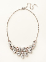 SORRELLI SNOW BUNNY CRYSTAL NECKLACE~NCP3ASSNB