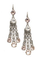 SORRELLI SNOW BUNNY CRYSTAL EARRINGS~ECC1ASSNB